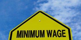 minimum wage Mindestlohn